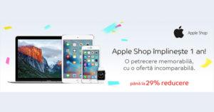 Reduceri Apple Shop eMAG de pana la 29% pe 16 septembrie 2016