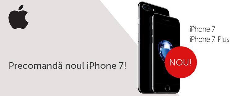 Precomanda iPhone 7 Plus evoMAG