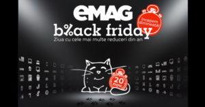 Data Black Friday 2016 la eMAG a fost anuntata oficial