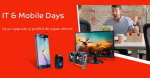 Reduceri IT & Mobile Days la eMAG in perioada 17-23 octombrie