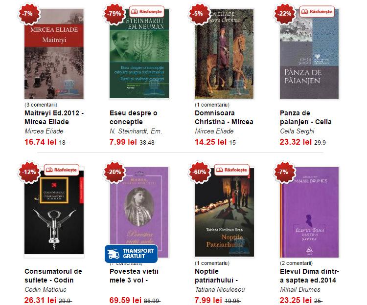 Carti autori romani Libris
