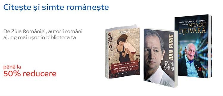 Oferta carti autori romani eMAG