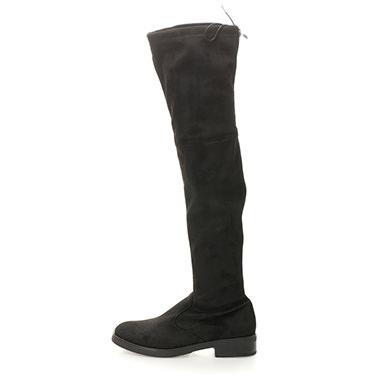 Cizme peste genunchi talpa joasa Buffalo FashionDays