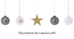 Decoratiuni de Craciun 2016 in oferta magazinelor online