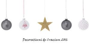 Decoratiuni Craciun 2016 online