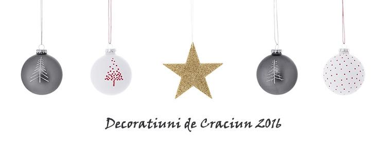 Decoratiuni Craciun 2016