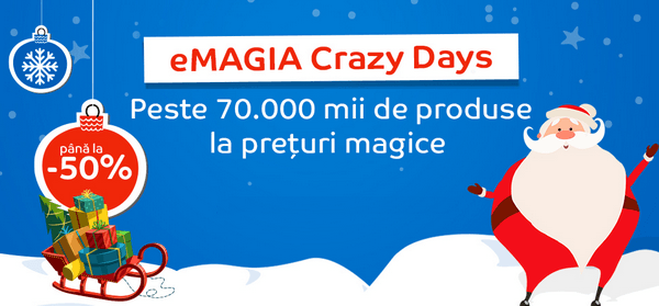 emagia crazy days 2016
