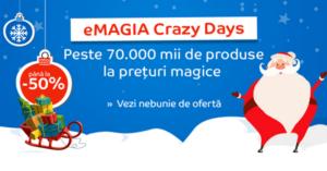 emagia crazy days oferte craciun 2016
