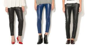Pantaloni imitatie piele online – un trend versatil pentru sezonul rece