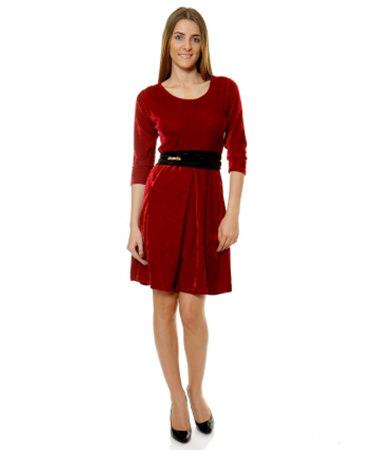 Rochie catifea Ruby Fashion eMAG