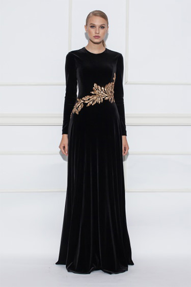 rochie-lunga-catifea-nissa