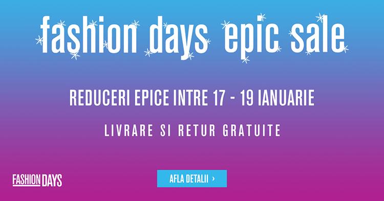 Epic Sale FashionDays ianuarie 2017