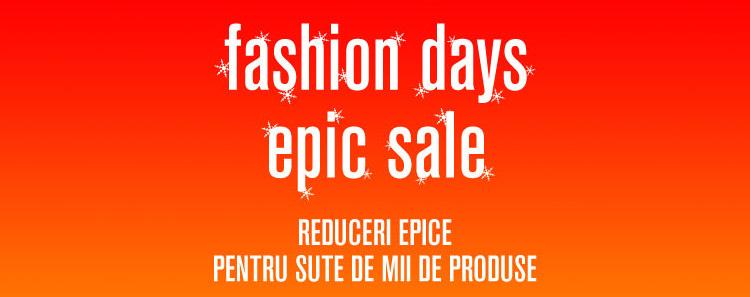 Fashion Days Epic Sale ianuarie 2017