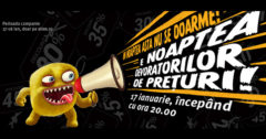 Campanie Noaptea devoratorilor de preturi 17 ianuarie 2017