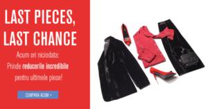 Reduceri la FashionDays pentru ultimele piese de la articole selectate