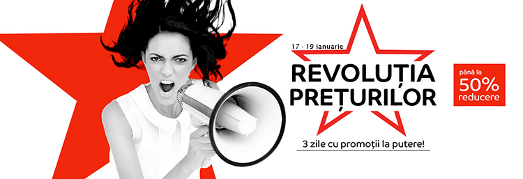 Revolutia Preturilor la eMAG din 17-19 ianuarie