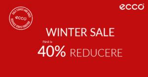 Reduceri incaltaminte Ecco de pana la 40% prin campania Winter Sale
