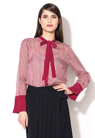 FashionDays camasa dama rosie dungi Max&Co