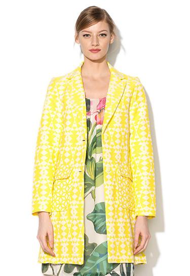FashionDays palton dama Desigual