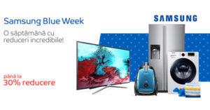 Reduceri Samsung prin Samsung Blue Week la eMAG
