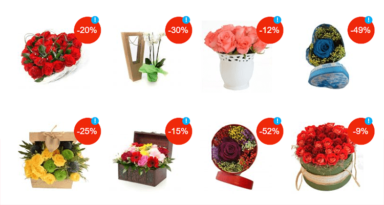 Aranjamente florale eMAG cadouri 8 Martie