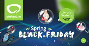Spring Black Friday 2017 la Elefant – startul se da in seara aceasta!