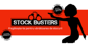 Stock Busters din 21 – 23 martie 2017 readuce ofertele avantajoase la eMAG