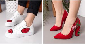 Pantofi brodati, cel mai vesel trend al sezonului