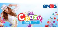 Campanie Crazy Days din 25 aprilie - 1 mai la eMAG