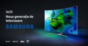Televizoare premium Samsung QLED in oferta eMAG