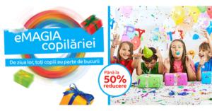 eMAGIA Copilariei revine de Ziua Copilului 2017 in magazinul eMAG