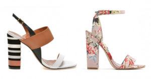 Modele frumoase de sandale cu toc gros pe care le putem comanda online