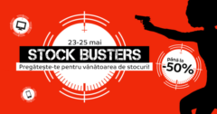 Stock Busters din 23 - 25 mai 2017 eMAG