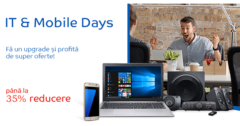 Campanie IT & Mobile Days din 6 - 12 iunie la eMAG