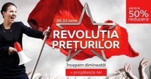 Revolutia Preturilor la eMAG din 20 – 22 iunie 2017 – reduceri de pana la 50%