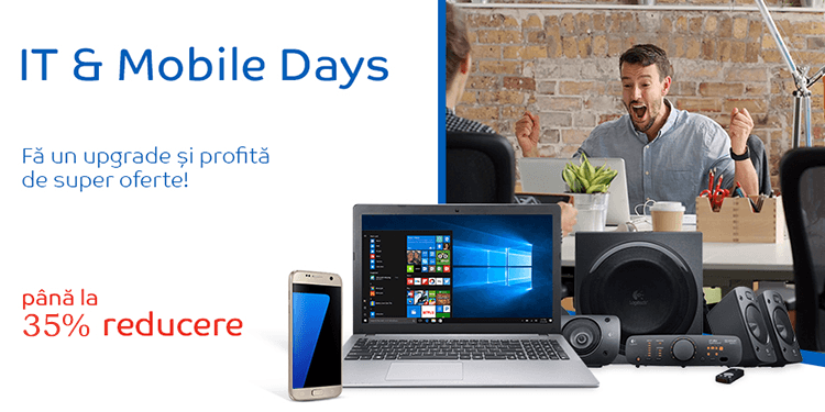 IT & Mobile Days din 6 - 12 iunie la eMAG