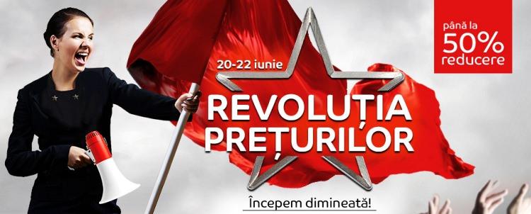 Revolutia Preturilor eMAG iunie 2017