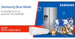 Samsung Blue Week la eMAG – reduceri de pana la -35% la electronice si electrocasnice