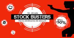 Campanie Stock Busters din 18 - 20 iulie 2017 la eMAG