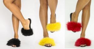 Papuci cu blanita – o tendinta pentru persoanele curajoase