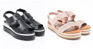 12 modele de sandale cu platforma dreapta perfecte pentru tinutele de vara