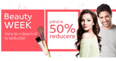 Campanie Beauty Week din august 2017 la eMAG