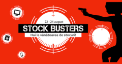 Campanie Stock Busters din 22 - 24 august 2017 la eMAG