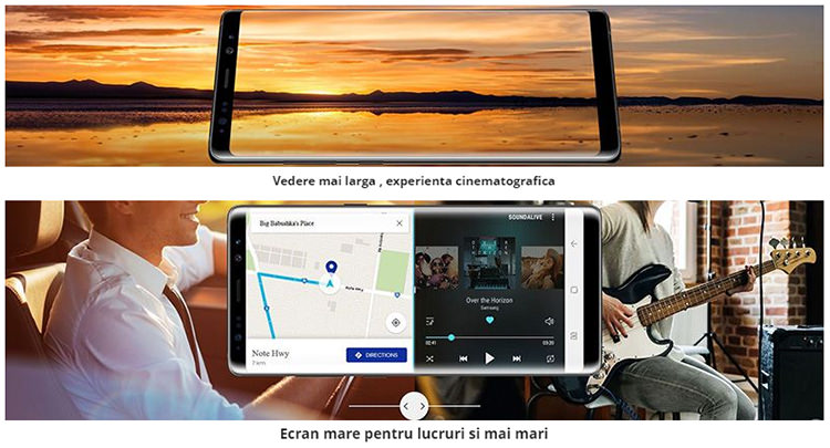 Ecran Samsung Galaxy Note 8