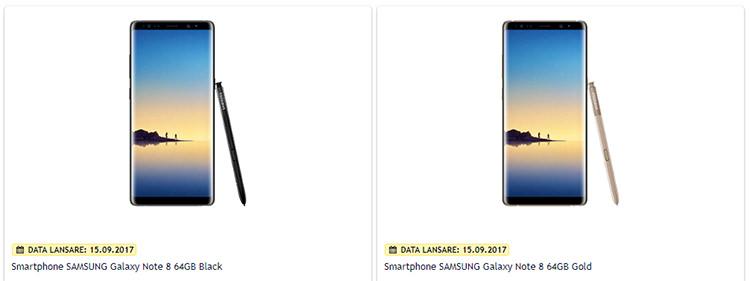 Precomanda Samsung Galaxy Note 8 Altex