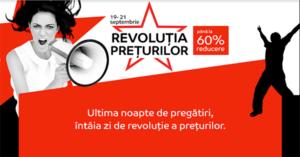 Revolutia Preturilor din 19 – 21 septembrie la eMAG – reduceri de pana la 60%