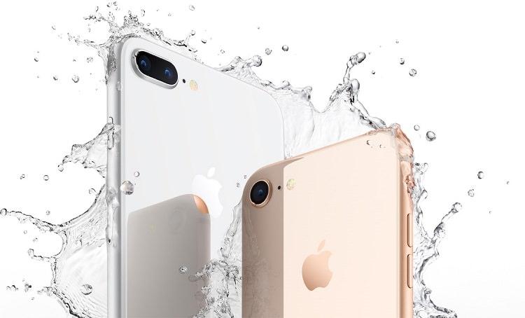 Rezistenta apa iPhone 8