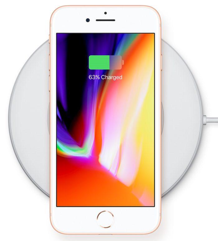 Incarcare wireless iPhone 8
