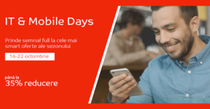 IT & Mobile Days din octombrie 2017 la eMAG