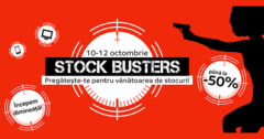 Campanie Stock Busters din 10-12 octombrie 2017 la eMAG